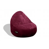 1 Seater Sitsational Lounger   Deluxe Cord Berry